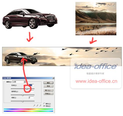 汽车零件 宣传海报