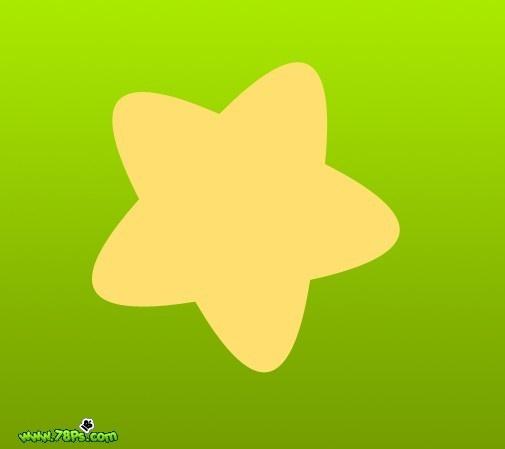 ps简单绘制可爱的水晶星星