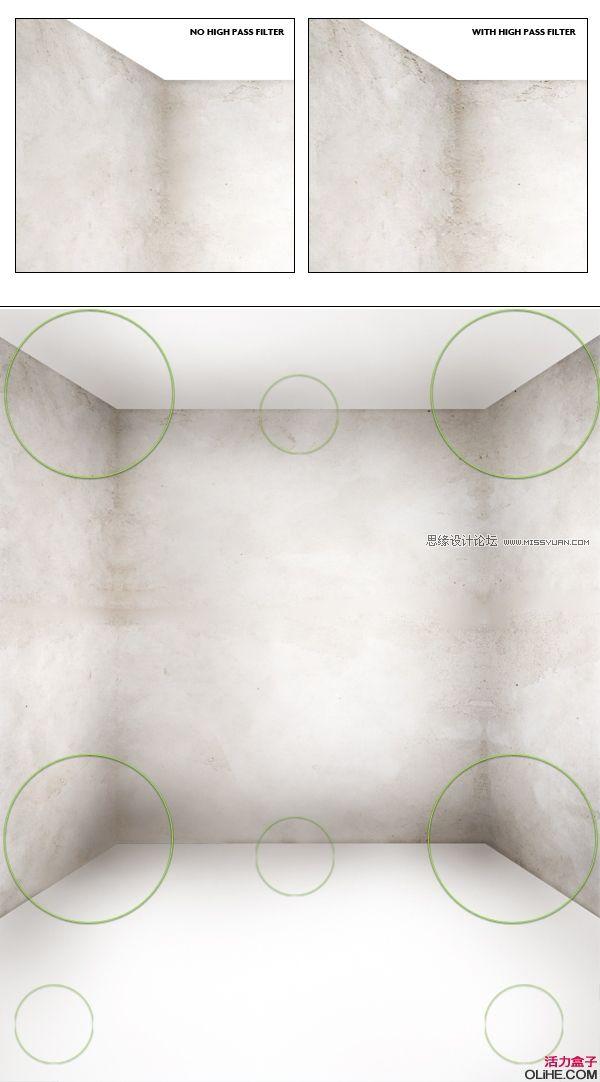 透视木地板文理素材