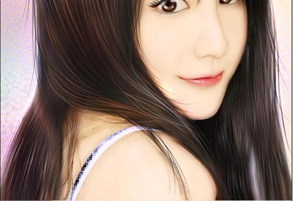 photoshop为美女照片转手绘的超详细教程中国资源网