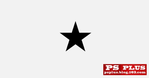 星星 黑白矢量图