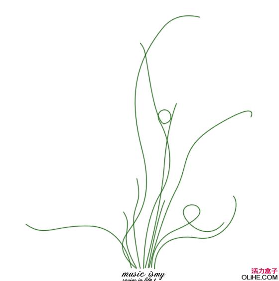 PhotoShop应用 路径 制作古典花瓶文字效果 中