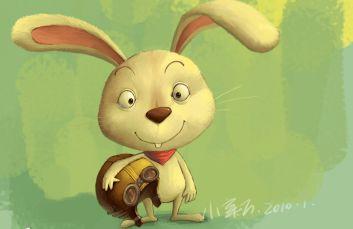 photoshop绘制可爱的卡通小白兔的教程