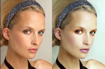 PS为漂亮美女保留皮肤质感磨皮的简单方法-PS教程 PS教程 抠图 磨皮