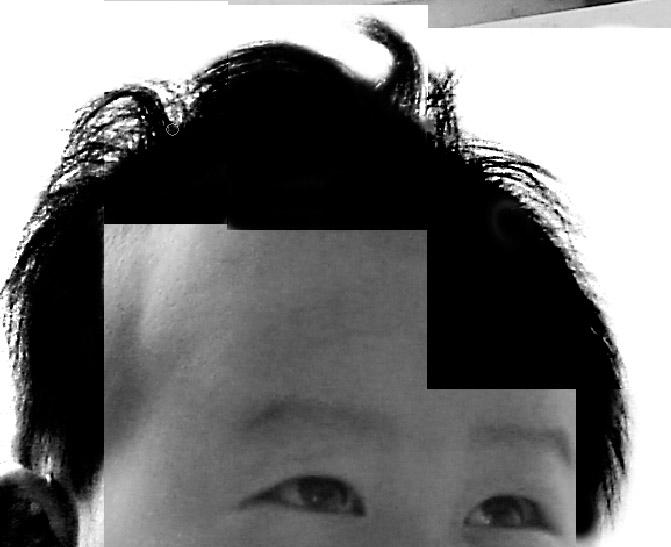 [转载]ps抠图为宝宝照片换背景