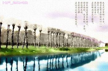 ps使用滤镜把风景画处理为诗意水彩效果