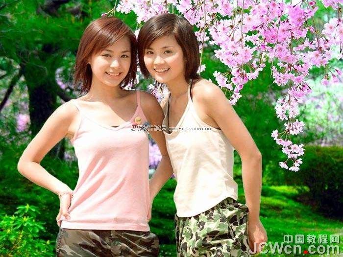 PhotoShop抽出完美快速抠出Twins照片的教程[中国PhotoShop资源