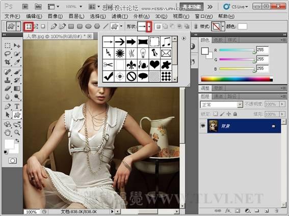 详解photoshop中位图和矢量图的区别[中国photoshop