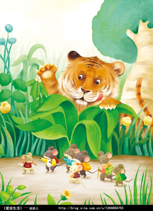 ps为可爱的儿童插画上色的简单鼠绘教程[中国资源网