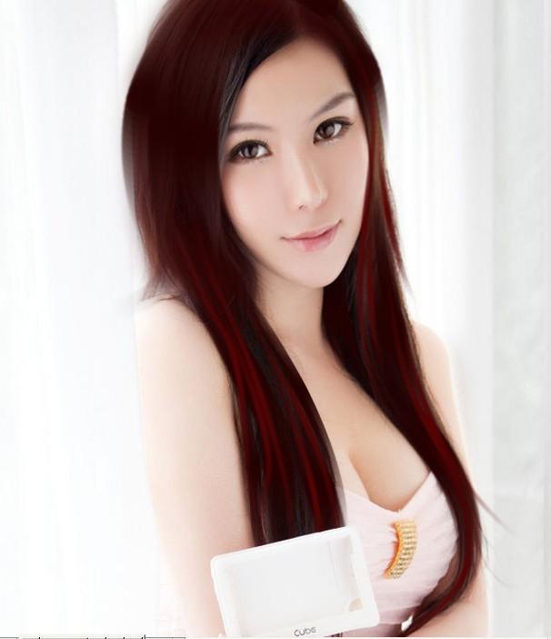 photoshop给美女照片转手绘的简单教程[中国