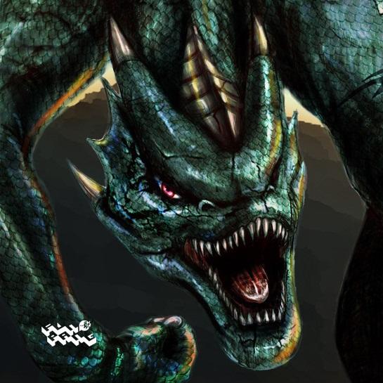 ps绘制游戏中的怪物飞龙的简单鼠绘教程[中国资源网