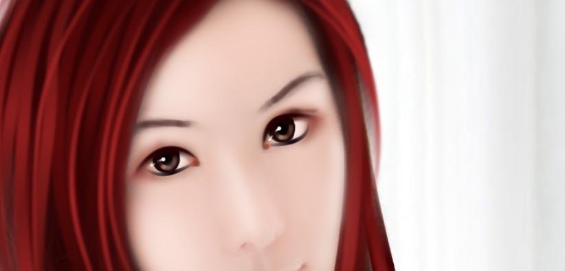 ps为清纯美女照片转手绘的详细鼠绘教程[中国资源网