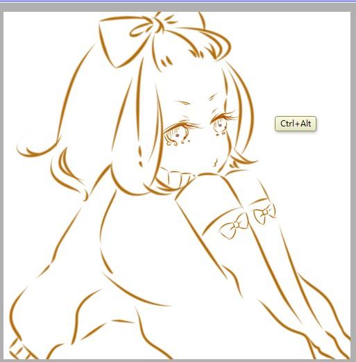 PS绘制可爱的蝴蝶结萌MM简单漫画过程灌篮高手卷23图片