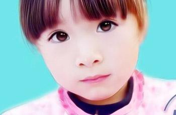 童照片鼠标转手绘过程