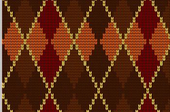 photoshop针织毛衣纹理无缝填充图案制作教程