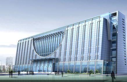 气势宏伟的现代建筑设计效果图高清素材(19p)