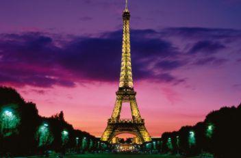 浪漫之都法国巴黎埃菲尔铁塔高清图片素材专辑