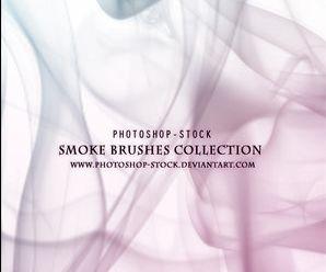 烟雾笔刷 ps资源 婚纱模板,儿童模板,台历模板,磨皮滤镜,psd