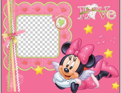 ¨『素材』可爱的米老鼠儿童边框;