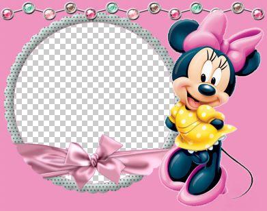 儿童模板.米老鼠系列边框11.psd