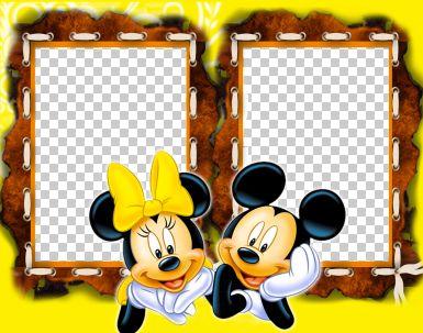 儿童模板.米老鼠系列边框19.psd