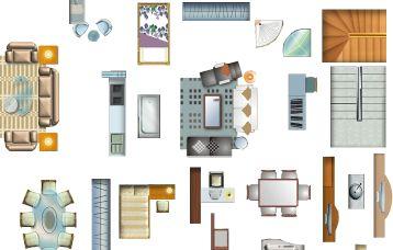 家居平面设计常用家电家具素材.psd