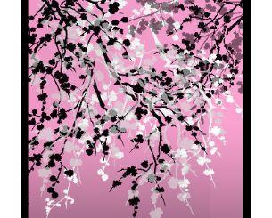 日本樱花树枝画笔.8支-PS资源 婚纱模板,儿童模板,台历模板,磨
