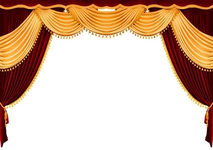 华丽欧式丝质窗帘设计素材高清图片下载3