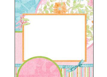 边框素材--ps资源 婚纱模板,儿童模板,台历模板,磨皮