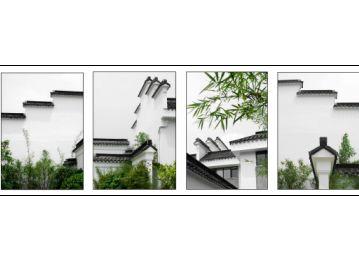 高清江南风格建筑素材图片