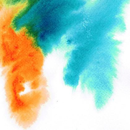 鲜艳的水彩水墨背景设计素材高清图片下载1