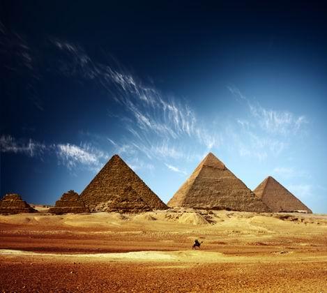漂亮的金字塔景观风景摄影图片高清素材下载