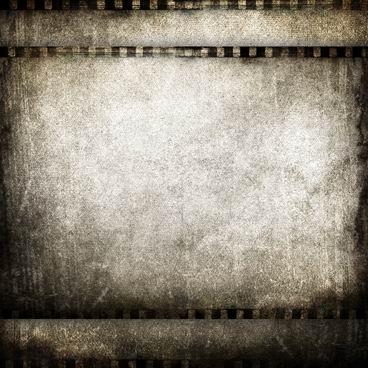 怀旧电影胶片边框污渍纹理背景素材高清图片下载2