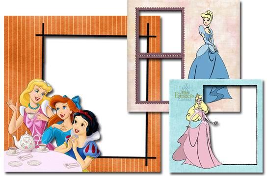 迪斯尼主题png透明底格式卡通儿童照片相框素材高清图片下载5图片