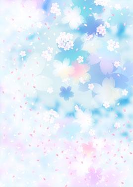 日本樱花和风背景素材高清图片下载5