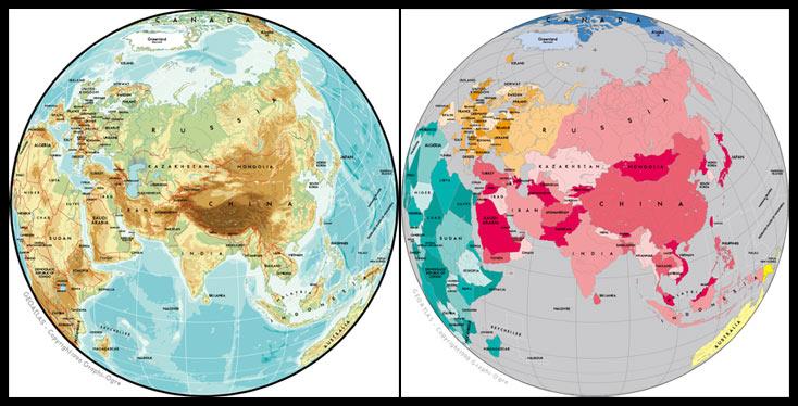 图片区亚洲迅雷下载_世界地图/亚洲地图高清图片素材免费下载86ps.com