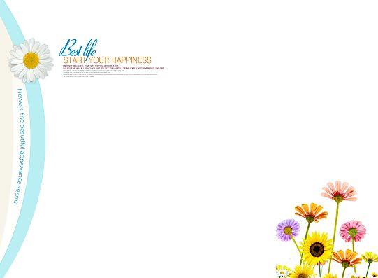 情侣写真模板psd素材春暖花开系列2012年影楼写真相册