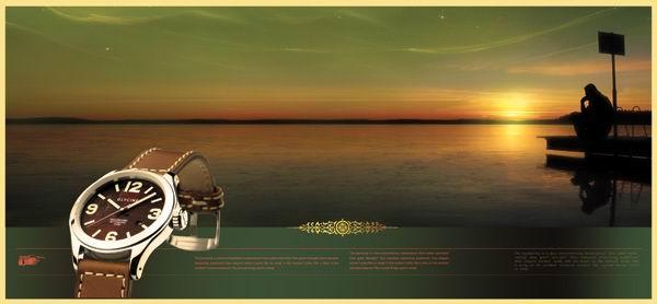 【文件大小:22.00 MB 更新时间: 2012-05-10软件类别:手表广告模板psd素材 软件语言:简体中文】 手表广告模板psd素材湖边的夕阳背景男士手表广告模板  手表广告模板psd素材湖边的夕阳背景男士手表广告模板 本系列共13个模板,psd分层格式,全部可以免费下载,值得收藏。 PSD--Photoshop Document(PSD),是著名的Adobe公司的图像处理软件Photoshop的专用格式。这种格式可以存储Photoshop中所有的图层,通道、参考线、注解和颜色模式等信息。在保存图