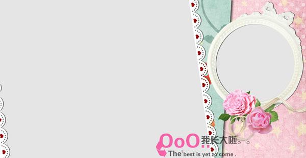 11月更新影楼儿童相册模板公主日记系列儿童相册psd模板免费下载二(共