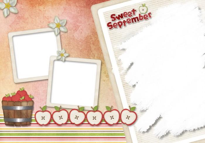 12月更新影楼儿童相册模板幼儿园成长册系列一儿童相册psd模板免费