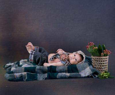 2015年满月宝宝3d免抠图相册模板{e198.