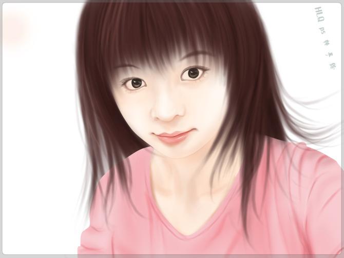 ps照片转手绘教程 mm转手绘之头发的画法 中国资源网