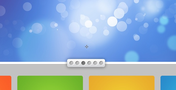 photoshop灰色调绚丽的商业web网页设计制作教程 - 的