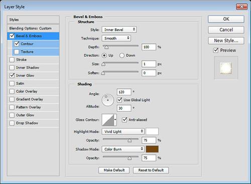 PSCS5制作一个皮革背景金属网纹质感3D立体金属字效果