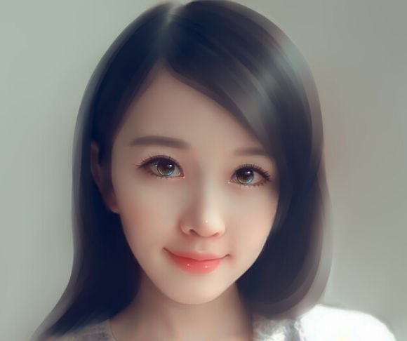 ps转手绘教程:打造mm唯美的仿手绘效果教程[中国资源