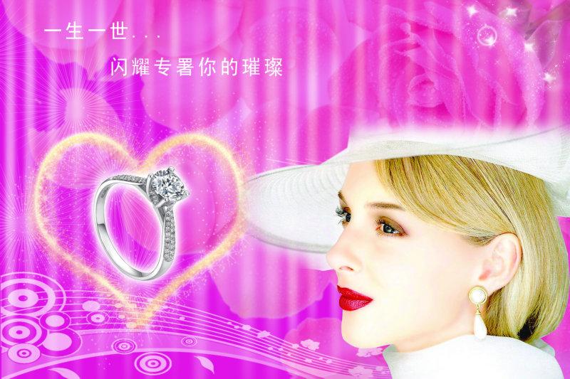 粉色背景系列女生頭像