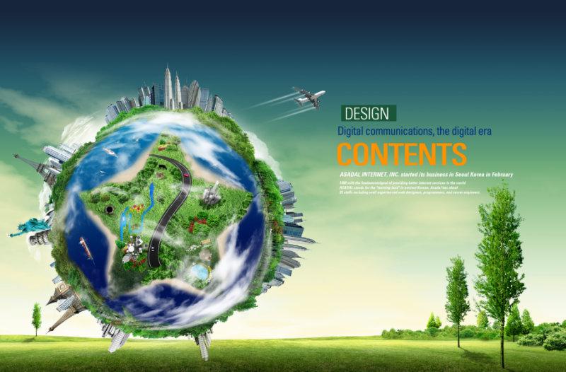 【文件大小:44.00 MB 更新时间: 2011-09-24软件类别:韩国背景PSD 软件语言:简体中文】 蓝天白云草地背景创意绿色地球上的世界著名建筑图片韩国设计psd素材2  蓝天白云草地背景创意绿色地球上的世界著名建筑图片韩国设计psd素材2, 本系列共400个模板,psd分层格式,全部可以免费下载,值得收藏。 PSD--Photoshop Document(PSD),是著名的Adobe公司的图像处理软件Photoshop的专用格式。这种格式可以存储Photoshop中所有的图层,通道、参考线、注