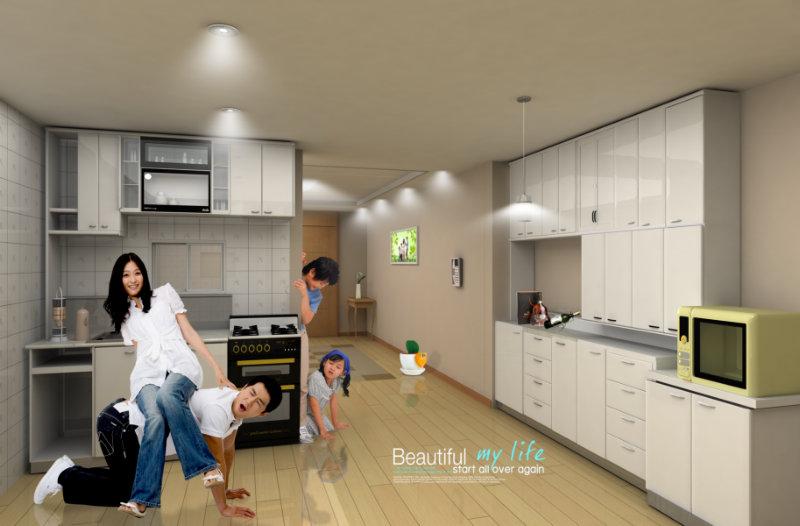 效果图|厨房装修|厨房效果图家装网.厨房装修效果图敞开式厨