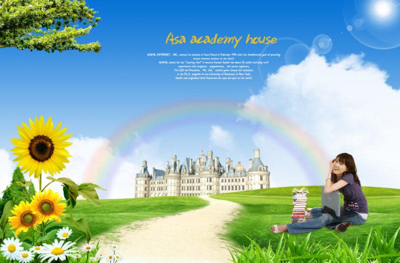 【文件大小:43.70 MB 更新时间: 2011-07-12软件类别:校园人物PSD 软件语言:简体中文】 坐在草地上微笑的美女古典城堡背景素材psd 坐在草地上微笑的美女古典城堡背景素材psd, 本系列共66个模板,psd分层格式,全部可以免费下载,值得收藏。 PSD--Photoshop Document(PSD),是著名的Adobe公司的图像处理软件Photoshop的专用格式。这种格式可以存储Photoshop中所有的图层,通道、参考线、注解和颜色模式等信息。在保存图像时,若图像中包含有层,则一