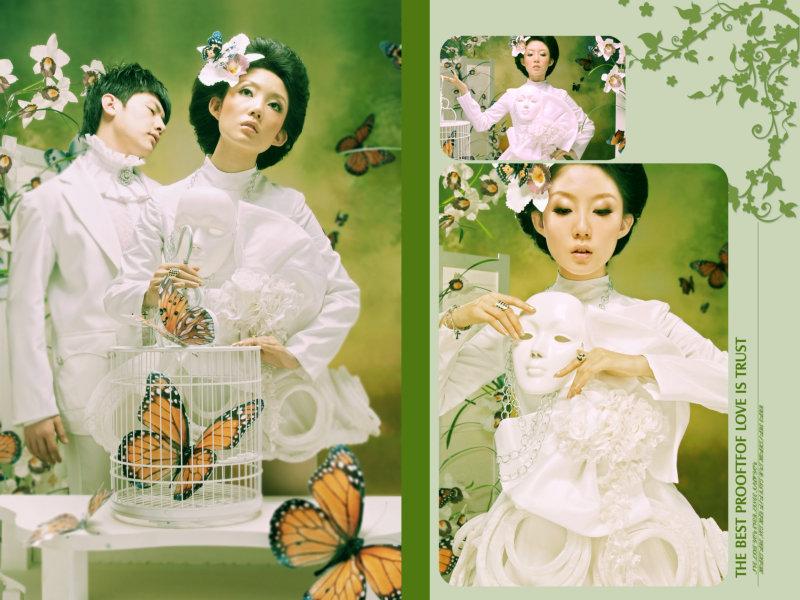 布拉特广场|现代时尚风格婚纱模板psd素材下载4 [中国